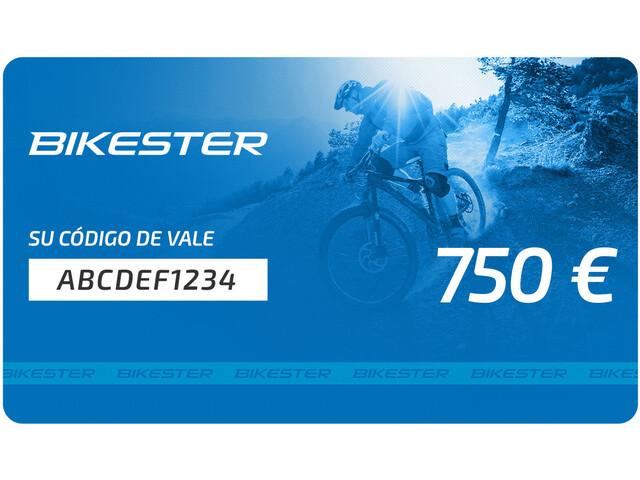 Bikester Tarjeta Regalo, 750 €